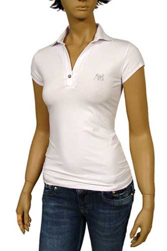 Womens Designer Clothes | ARMANI JEANS Ladies Polo Shirt #109