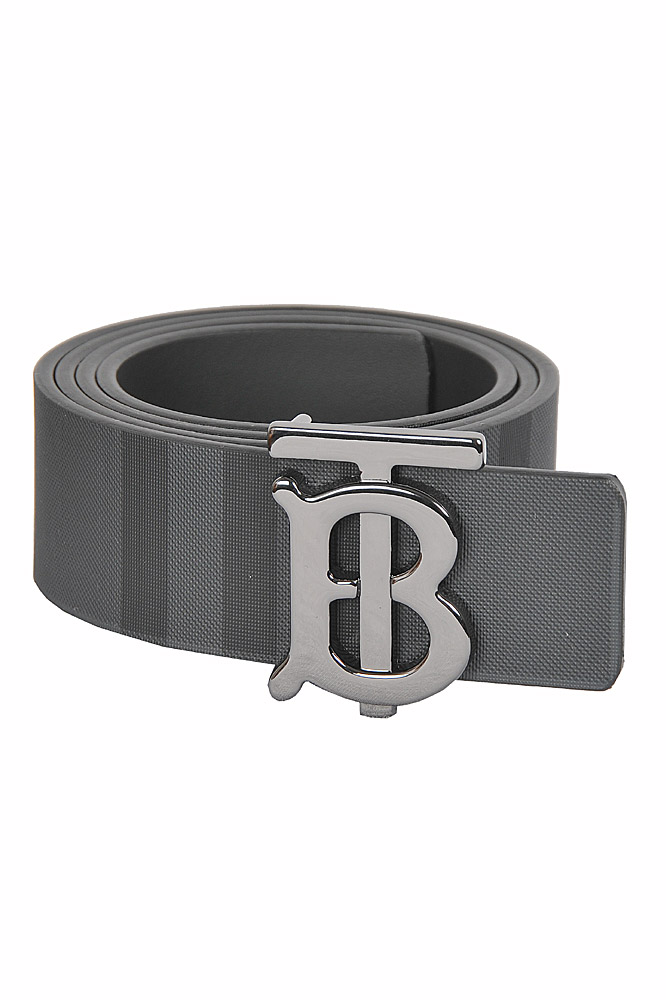 Mens Designer Clothes | BURBERRY men's reversible leather belt 71