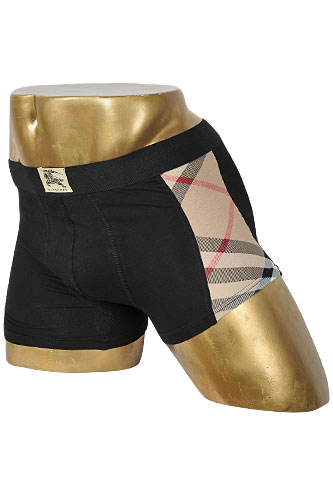 Mens Designer Clothes Burberry Boxers With Elastic Waist