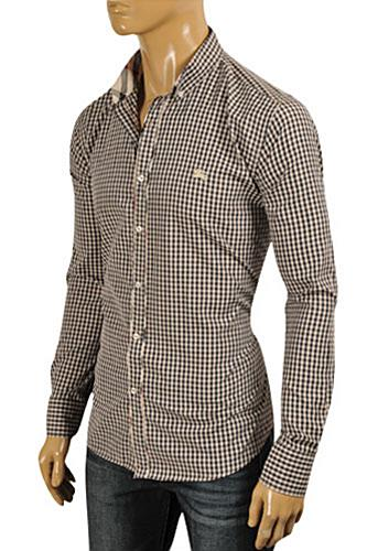 Mens Designer Clothes | BURBERRY Men's Dress Shirt #190