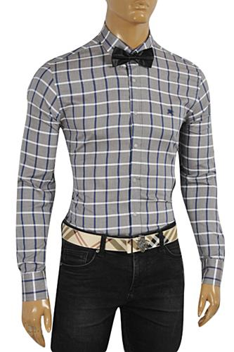Mens Designer Clothes | BURBERRY Men's Dress Shirt #229