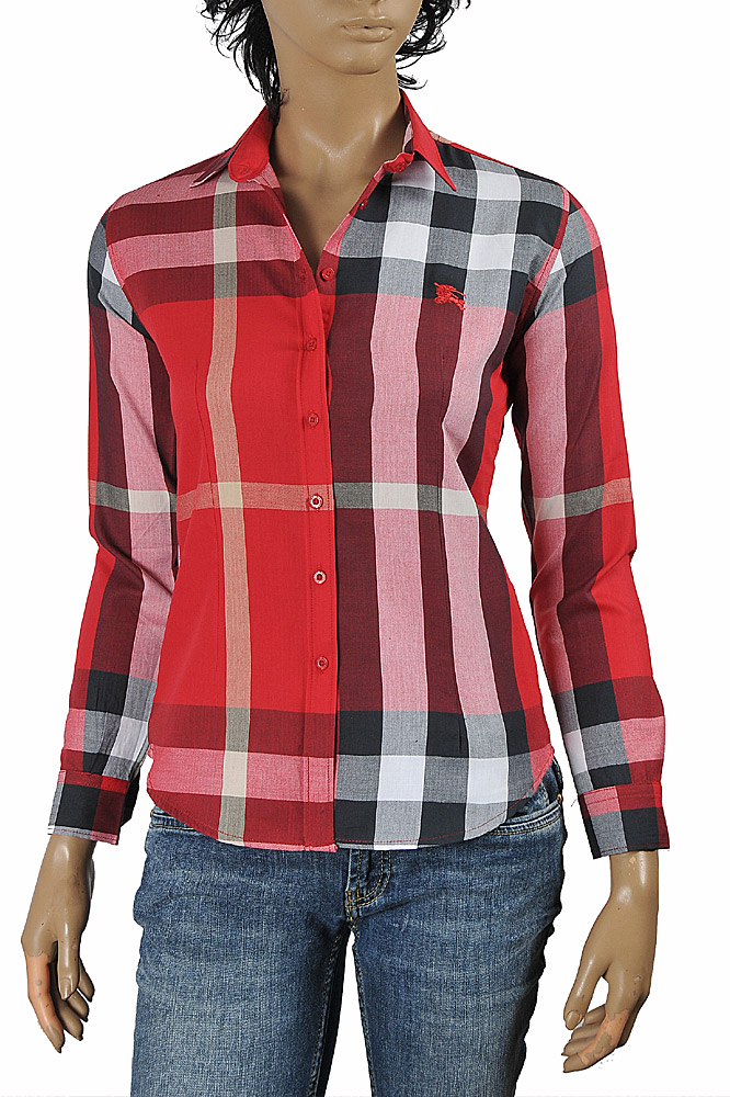 Womens Designer Clothes | DF NEW STYLE, BURBERRY Ladies' Dress Shirt 244
