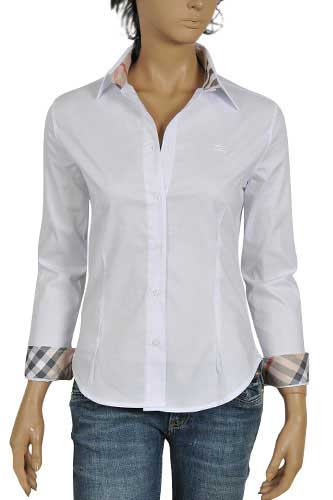 Womens Designer Clothes | BURBERRY Ladies Dress Shirt #33