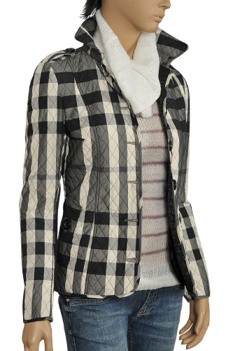 womens designer clothes burberry ladies� button up