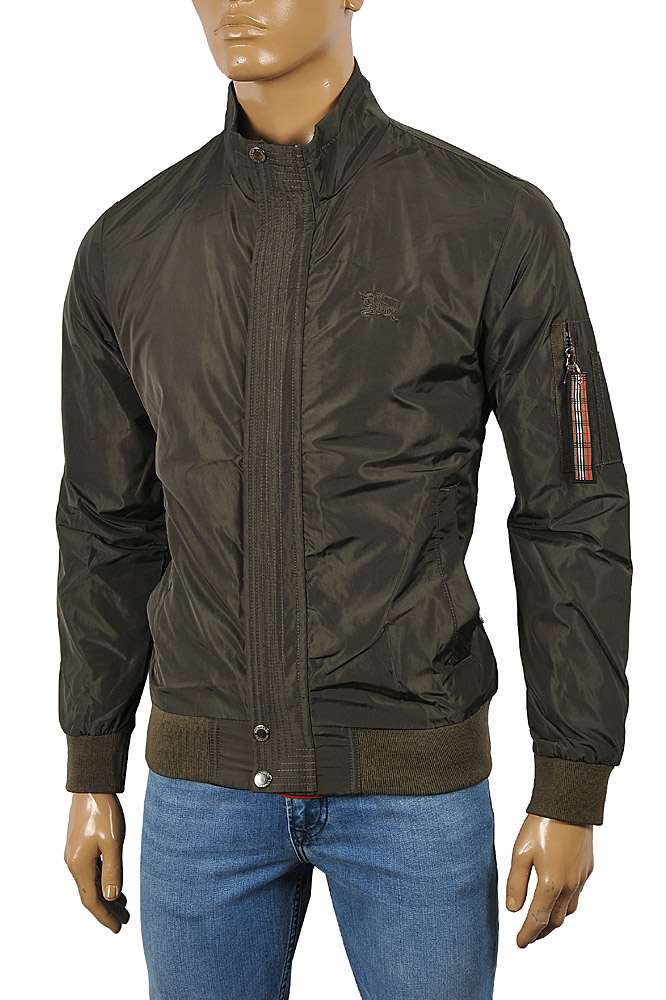 Mens Designer Clothes | BURBERRY Men's Zip Up Jacket #49