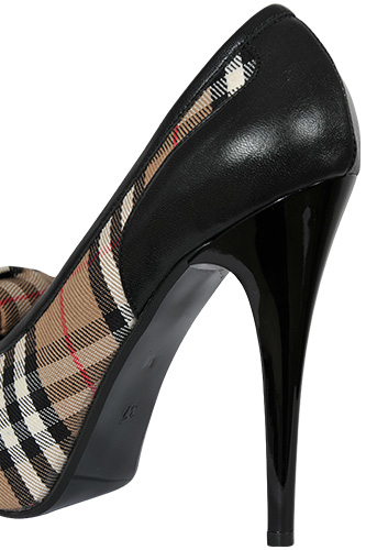 Designer Clothes Shoes Burberry High Heel Luxury Shoes 245