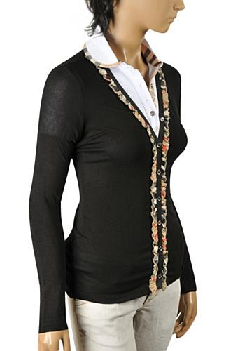 Womens Designer Clothes | BURBERRY Ladies' Button Up Cardigan/Sweater #219