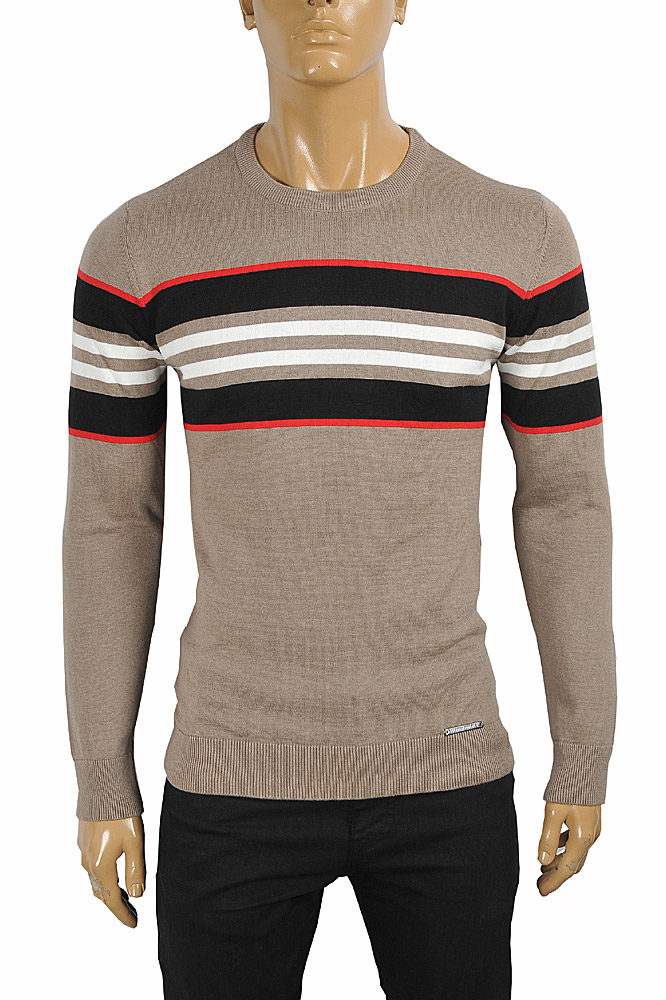 Mens Designer Clothes | BURBERRY men's round neck sweater 269