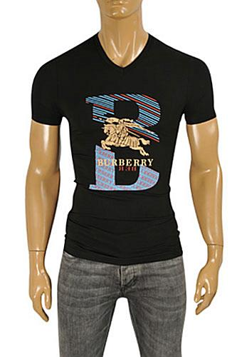 Mens Designer Clothes | BURBERRY Men's Short Sleeve Tee #206