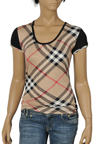 Womens Designer Clothes | BURBERRY Ladies Short Sleeve Tee #47