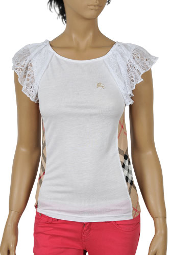 Womens Designer Clothes | BURBERRY Ladies Short Sleeve Tee #52