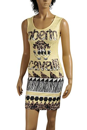 Womens Designer Clothes | ROBERTO CAVALLI Sleeveless Dress #349
