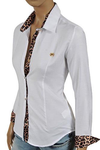 Womens Designer Clothes | ROBERTO CAVALLI Ladies' Dress ...