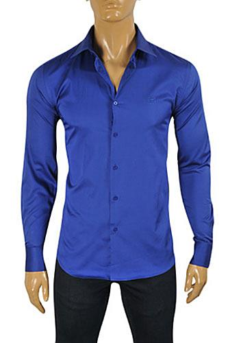 Mens Designer Clothes | ROBERTO CAVALLI Men's Dress Shirt #0346