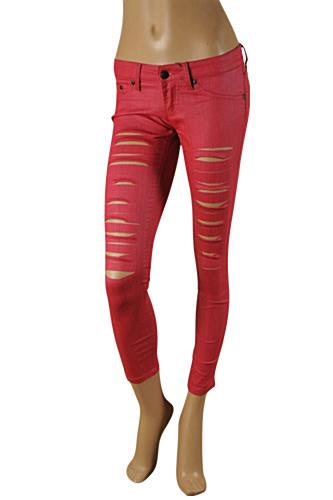 Womens Designer Clothes | JUST CAVALLI Ladies' Skinny Legs Jeans #90