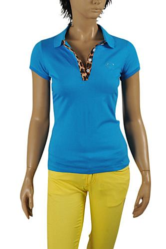 Womens Designer Clothes | JUST CAVALLI Ladies' Polo Shirt #326