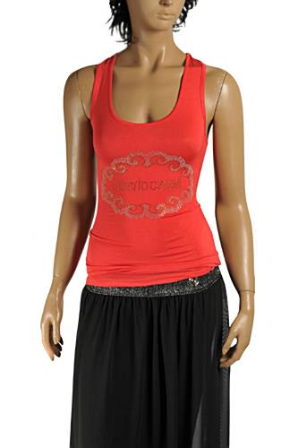 Womens Designer Clothes | ROBERTO CAVALLI Ladies Sleeveless Top #158