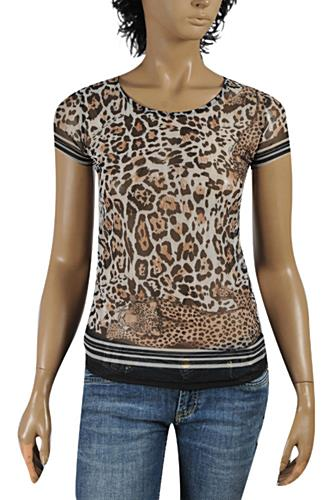Womens Designer Clothes | ROBERTO CAVALLI Ladies Short Sleeve Top #174