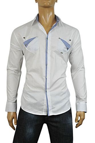 Mens Designer Clothes | DOLCE & GABBANA Men's Dress Shirt #365
