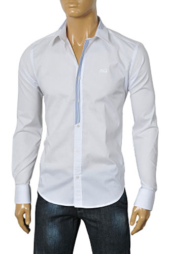 Mens Designer Clothes | DOLCE & GABBANA Men's Dress Shirt #395
