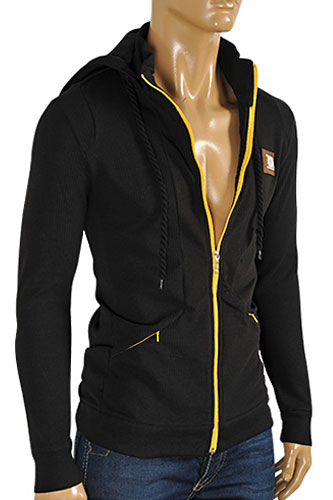 Mens Designer Clothes | DOLCE & GABBANA Men's Zip Up Hoodie/Jacket #391