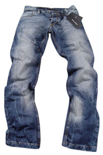 Mens Designer Clothes | DOLCE & GABBANA Mens Washed Jeans #151