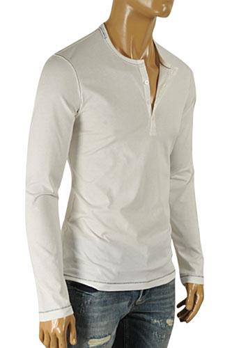 Mens Designer Clothes | DOLCE & GABBANA Men's Long Sleeve Shirt #460