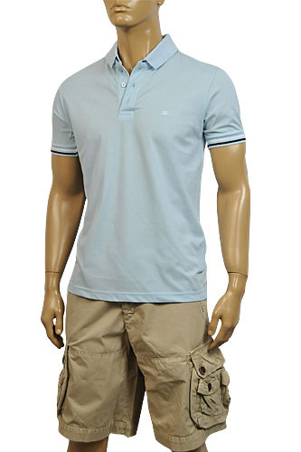 Mens Designer Clothes | DOLCE & GABBANA Mens Relax Fit Polo Shirt #359