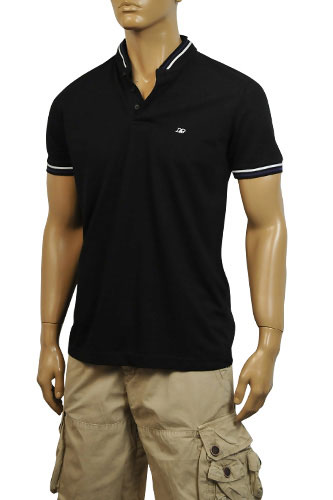 Mens Designer Clothes | DOLCE & GABBANA Mens Relax Fit Polo Shirt #360