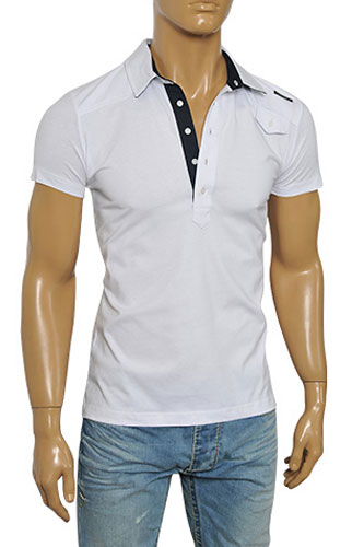 Mens Designer Clothes | DOLCE & GABBANA Men's Polo Shirt #410