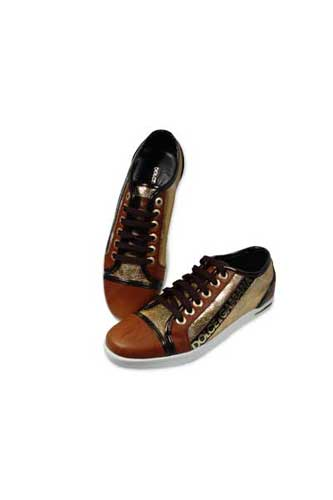 Designer Clothes Shoes | DOLCE & GABBANA Lady's Leather Sneaker Shoes #88