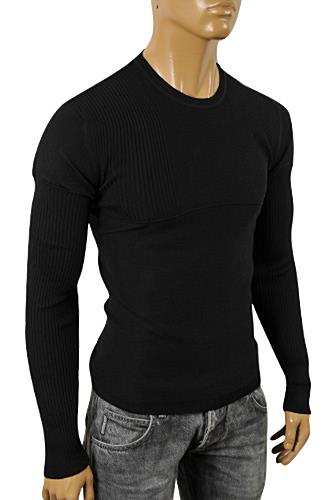 Mens Designer Clothes | DOLCE & GABBANA Men's Knit Fitted Sweater #225