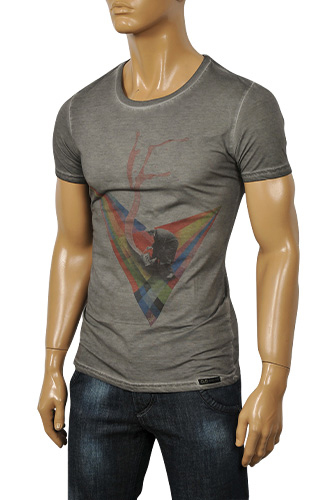 Mens Designer Clothes | DOLCE & GABBANA Men's Short Sleeve Tee #190