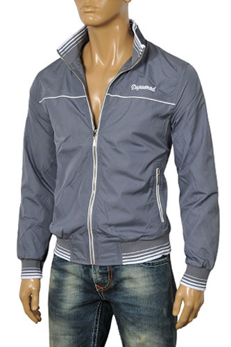 Mens Designer Clothes | DSQUARED Men's Zip Up Jacket #4