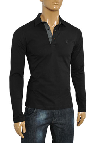 Mens Designer Clothes | Fendi Men's Long Sleeve Casual Shirt #7