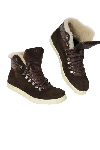 Designer Clothes Shoes Gucci High Leather Boots For Men
