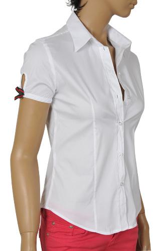 V Neck Polo Shirts For Women
