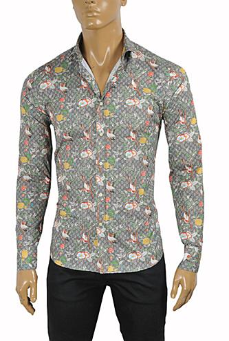 Mens Designer Clothes | GUCCI Men's Cotton Dress Shirt #373