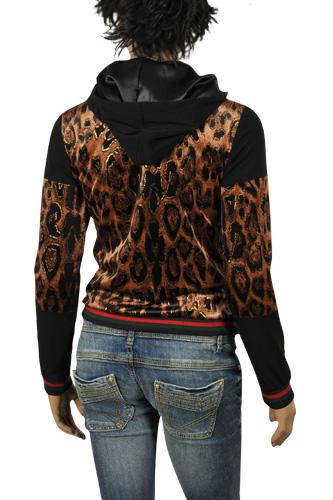 womens designer clothes  gucci ladies' zip up cotton