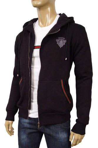 Mens Designer Clothes Gucci Mens Cotton Hoodie 62