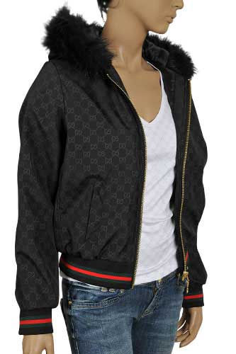 Womens Designer Clothes Gucci Ladies Hooded Jacket 103