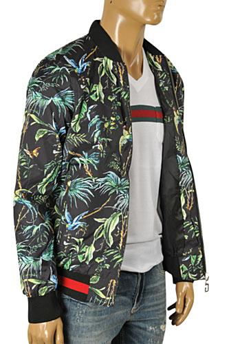 Mens Designer Clothes | GUCCI Men's Zip Up Jacket #149