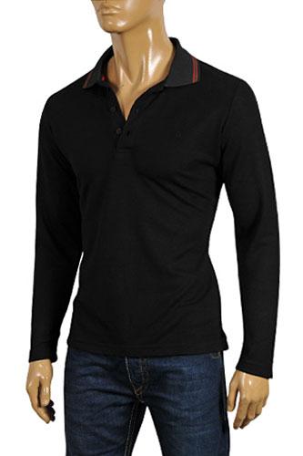 Mens Designer Clothes Gucci Men S Long Sleeve Polo Shirt