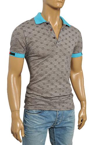 Mens Designer Clothes   GUCCI Men's Polo Shirt #243