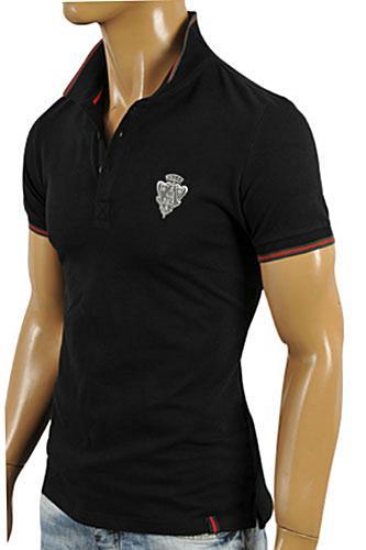 Mens Designer Clothes Gucci Men S Cotton Polo Shirt In