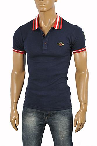 Mens Designer Clothes | GUCCI Men's cotton polo#368