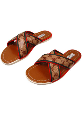 Mens Designer Clothes | GUCCI Mens Leather Sandals #191