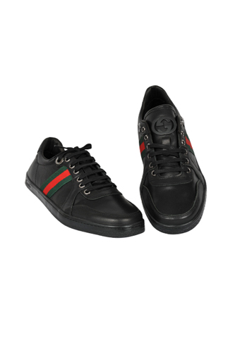 Designer Clothes Shoes Gucci Men S Leather Sneaker Shoes