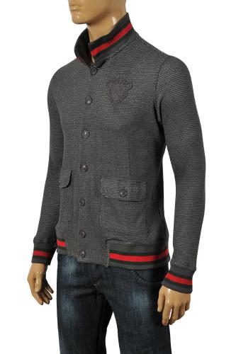 Mens Designer Clothes Gucci Men S Button Up Sweater 67
