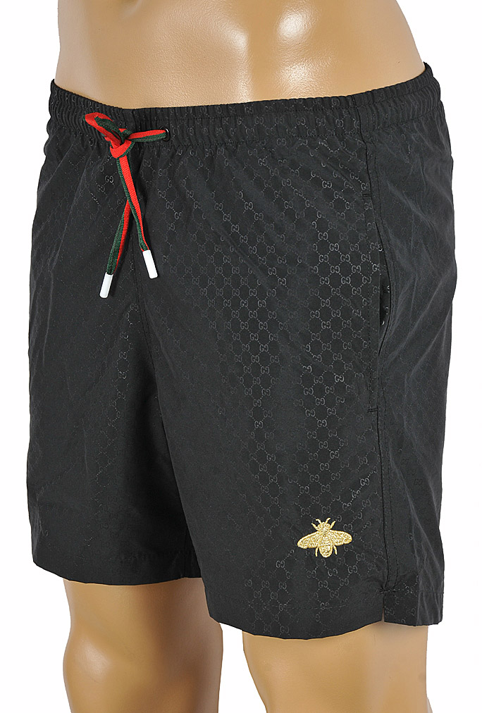 Mens Designer Clothes | GUCCI GG Printed Swim Shorts for Men #88